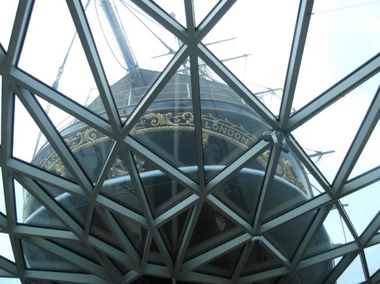 Cutty Sark: The ship from below