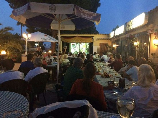Benissa, Spain: restaurant la marina