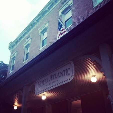 Chesapeake Ghost Walks: Haunted Hotel Atlantic one of the locations on Berlin ghost walk.