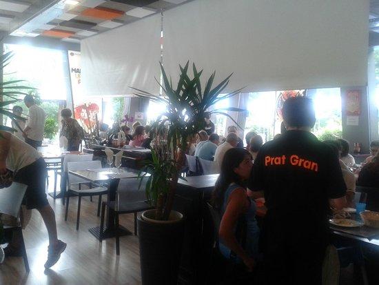 Restaurant del Prat Gran: salle