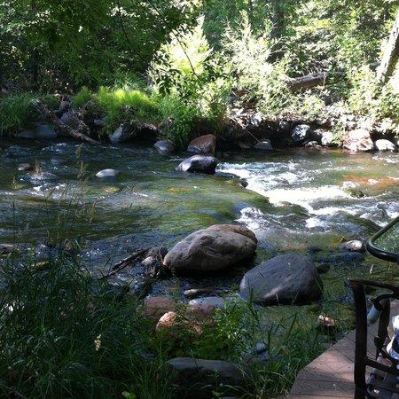 L'Auberge de Sedona: creekside at restaurant