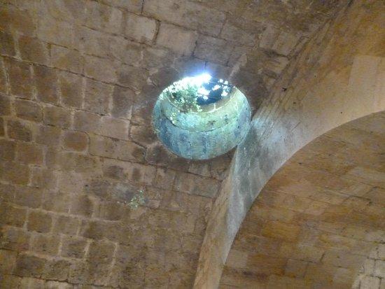 Citadelle de Blaye : Un puits d'aération