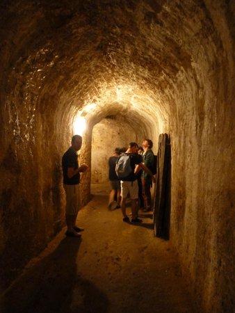 Citadelle de Blaye : Dans un des souterrains