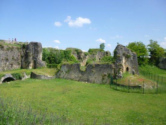 Citadelle de Blaye : Ce qu'il reste de la partie médiévale