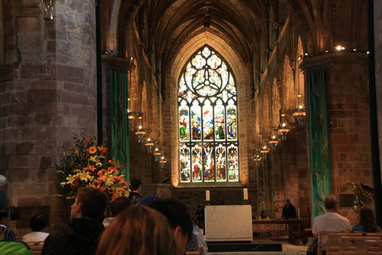 St Giles' Cathedral: Interior of St. Giles