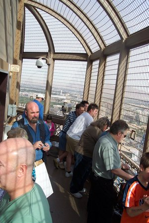 Eiffel Tower Experience at Paris Las Vegas : Viewing from the top