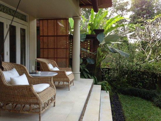 COMO Uma Ubud: Private terrace (Uma Villa)