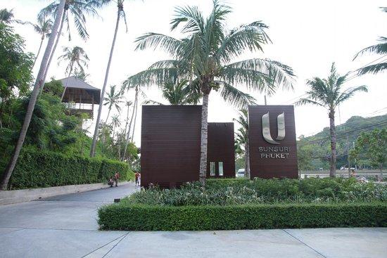Sunsuri Phuket : the entrance