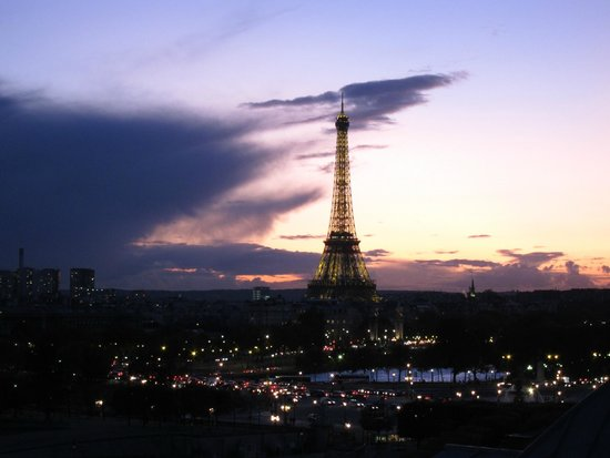 The Westin Paris - Vendome: View from the Eifffel Tower side