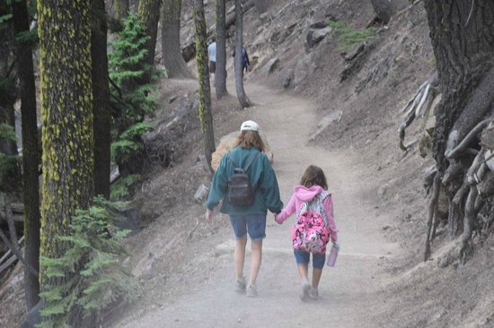 Wizard Island: Cleetwood Cove Trail