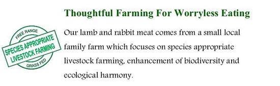 Restaurante La Villa Del Chef: Organic Meat - The Difference