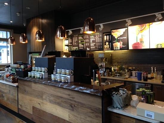 Starbucks Lothian Road: The Counter Area