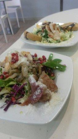 Salt and Sugar: Fresh salads...