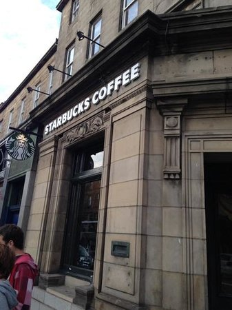 Starbucks Lothian Road: An Old Bank Building ?