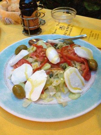 Pizzeria Trattoria all'Anfora : insalata