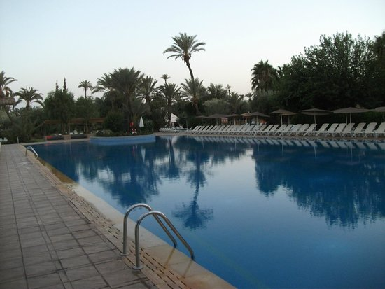 IBEROSTAR Club Palmeraie Marrakech: piscine où se passe les animations