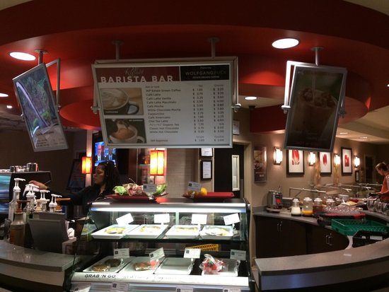 Cambria hotel & suites Raleigh-Durham Airport: Barista bar Cambria