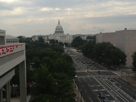 Newseum : View from the terrace