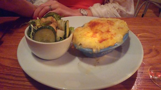 Porters English Restaurant: Seafood Pie