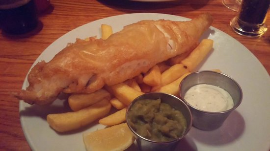 Porters English Restaurant: Fish and Chips