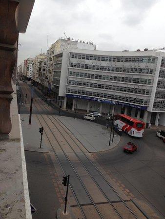 Imperial Casablanca Hotel & Spa : noisy tram