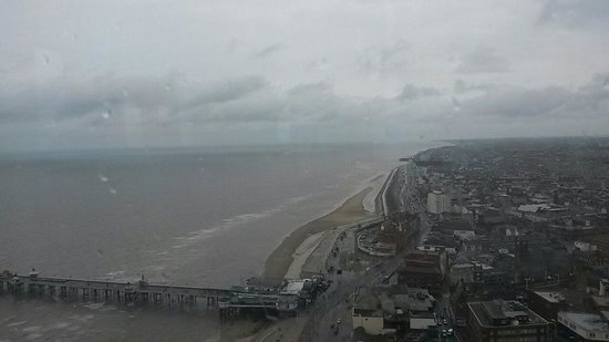 The Blackpool Tower: View from the top