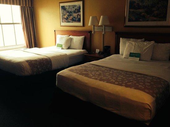 La Quinta Inn Orlando International Drive North: Queen size beds