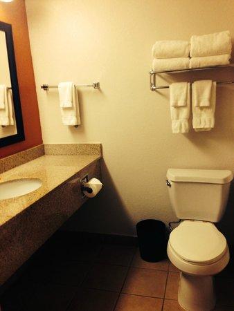 La Quinta Inn Orlando International Drive North: Bathroom with tub
