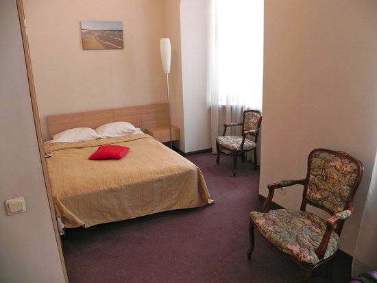 Rixwell Terrace Design Hotel : Sängarna.