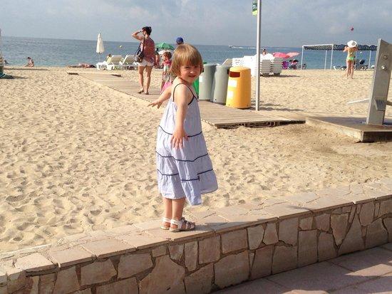 Estival Centurion Playa: Роскошный широкий пляж при отеле