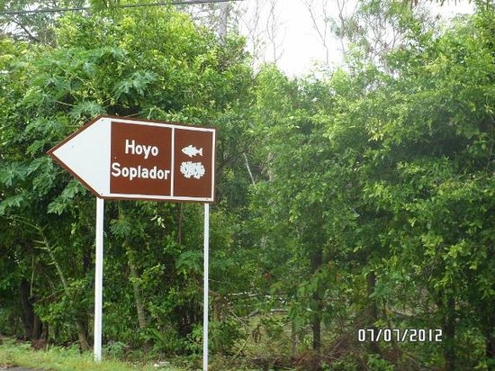Hoyo Soplador: Cuando llegas