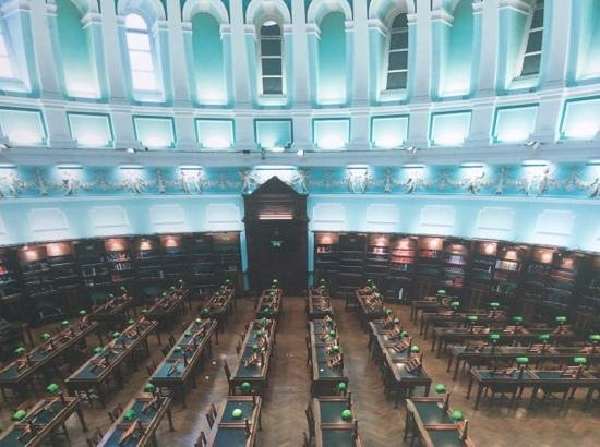 National Library of Ireland: The Reading Room