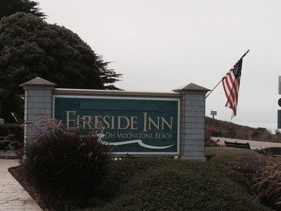 Fireside Inn on Moonstone Beach: Great location