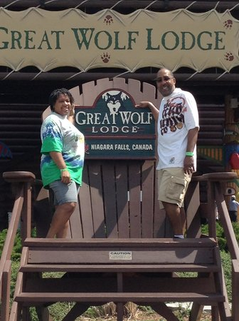 Great Wolf Lodge : Outside Great Wolf