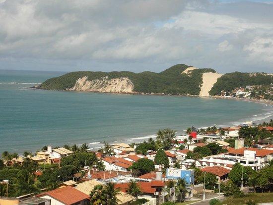 Holiday Inn Express Natal Ponta Negra: Vista do Morro de Careca / Praia Ponta Negra