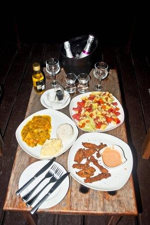 Eclypse de Mar: Last amazing meal in the bungalow