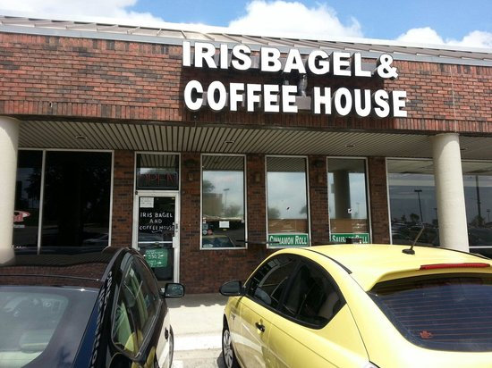 Iris Bagel and Coffee House: Our secret vice