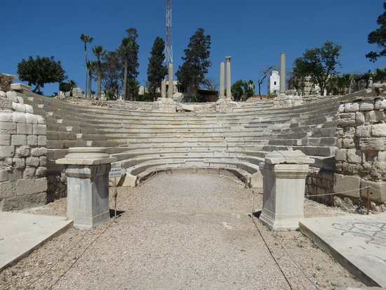 Roman Amphitheatre: x