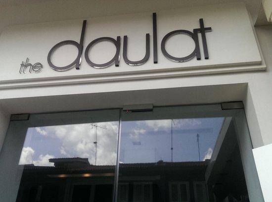 The Daulat: Hotel Entrance