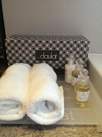 The Daulat: Toiletries