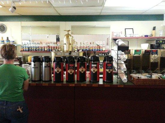 Iris Bagel and Coffee House: Coffee coffee and more coffee