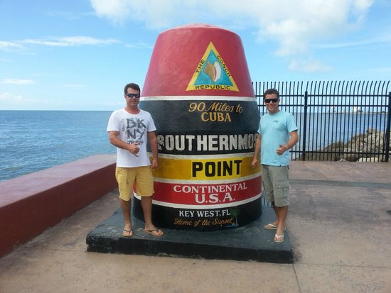 Southernmost Point: marco