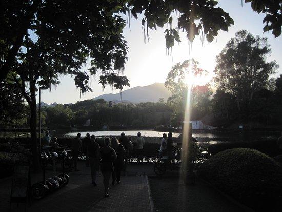 Parque De La Paloma : sunset