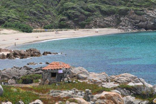 Hotel du Golfe : Tizzano beach.