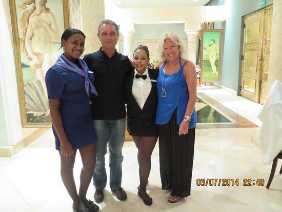 Iberostar Grand Hotel Bavaro: En el restaurante italiano