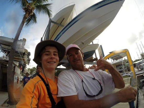 Keys Diver Snorkel & Scuba: Capitan Dave