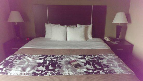 Sleep Inn West: King Bed