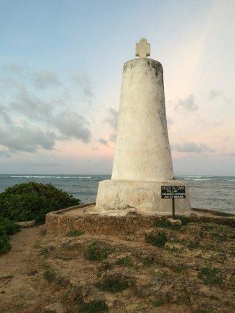 Vasco da Gama Pillar: Near view