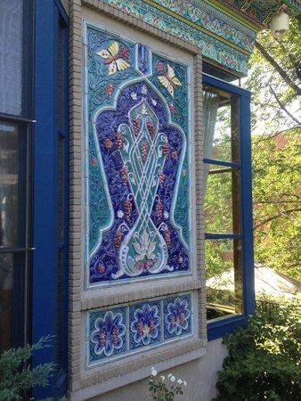 The Boulder Dushanbe Teahouse: amazing tile work