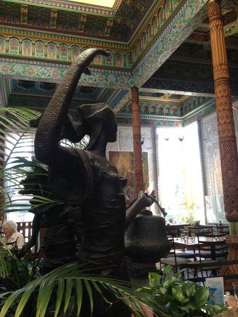 The Boulder Dushanbe Teahouse: calming atmosphere